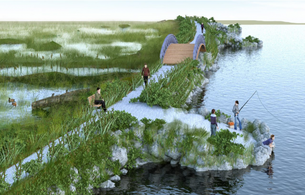 Lake Scugog Enhancement Project Rendering